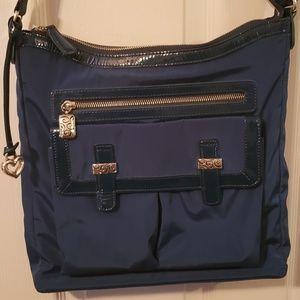 Brighton blue nylon handbag
